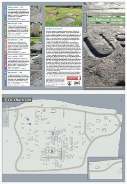 Leaflet for Old Rahoon Historic Graveyard